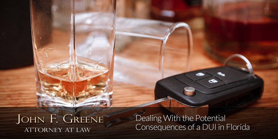 Dealing With the Potential Consequences of a DUI in Florida