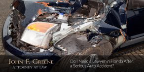 Do I Need a Lawyer in Florida After a Serious Auto Accident?
