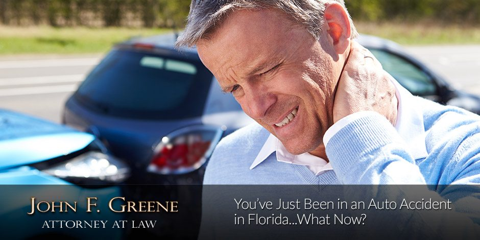 You've Just Been in an Auto Accident in Florida...What Now?