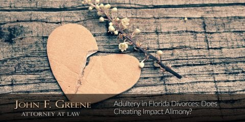 Adultery in Florida Divorces: Does Cheating Impact Alimony?