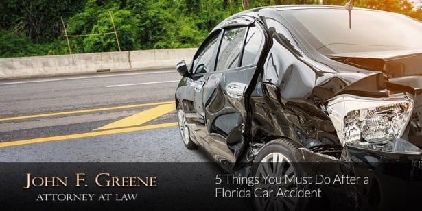 5 Things You Must Do After a Florida Car Accident