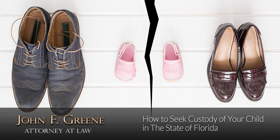 How to Seek Custody of Your Child in The State of Florida