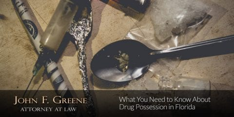 What You Need to Know About Drug Possession in Florida