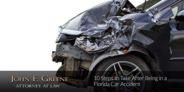 10 Steps to Take After Being in a Florida Car Accident