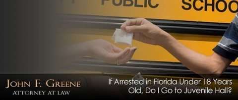 If Arrested in Florida Under 18 Years Old, Do I Go to Juvenile Hall?