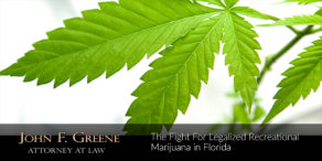 The Fight For Legalized Recreational Marijuana in Florida