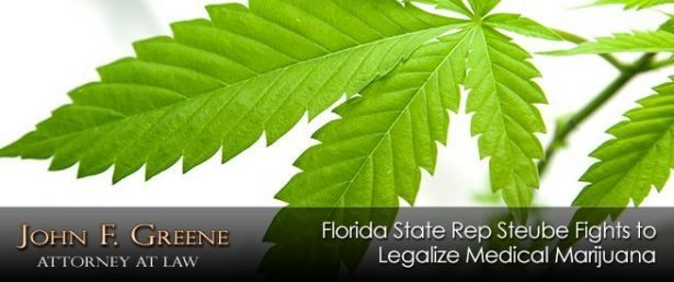 Florida State Rep Steube Fights to Legalize Medical Marijuana