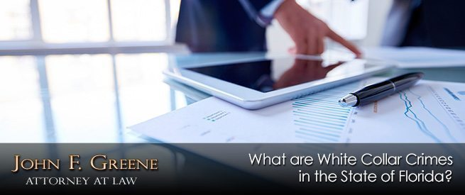 What are White Collar Crimes in the State of Florida?
