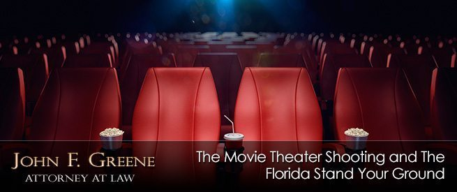 The Movie Theater Shooting and The Florida Stand Your Ground