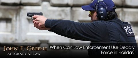 When Can Law Enforcement Use Deadly Force in Florida?