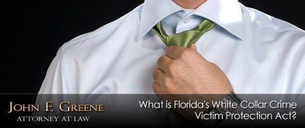 What is Florida's White Collar Crime Victim Protection Act?