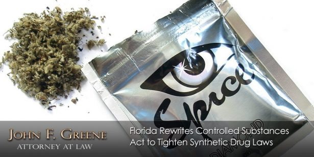 Florida Rewrites Controlled Substances Act to Tighten Synthetic Drug Laws