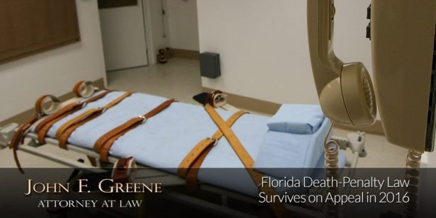 Florida Death-Penalty Law Survives on Appeal in 2016