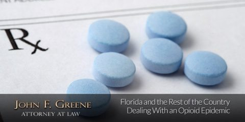 Florida and the Rest of the Country Dealing With an Opioid Epidemic