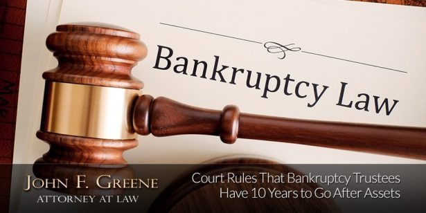 Florida Court Rules That Bankruptcy Trustees Can Have 10 Years to Go After Assets