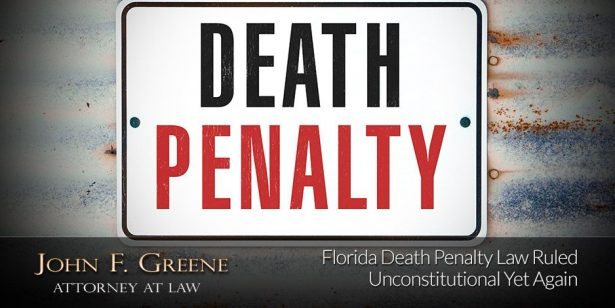 Florida Death Penalty Law Ruled Unconstitutional Yet Again