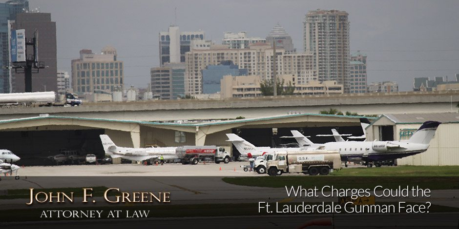 What Charges Could the Ft. Lauderdale Gunman Face?