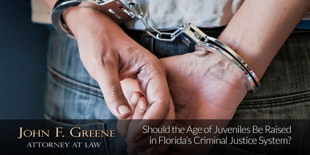 Should the Age of Juveniles Be Raised in Florida's Criminal Justice System?