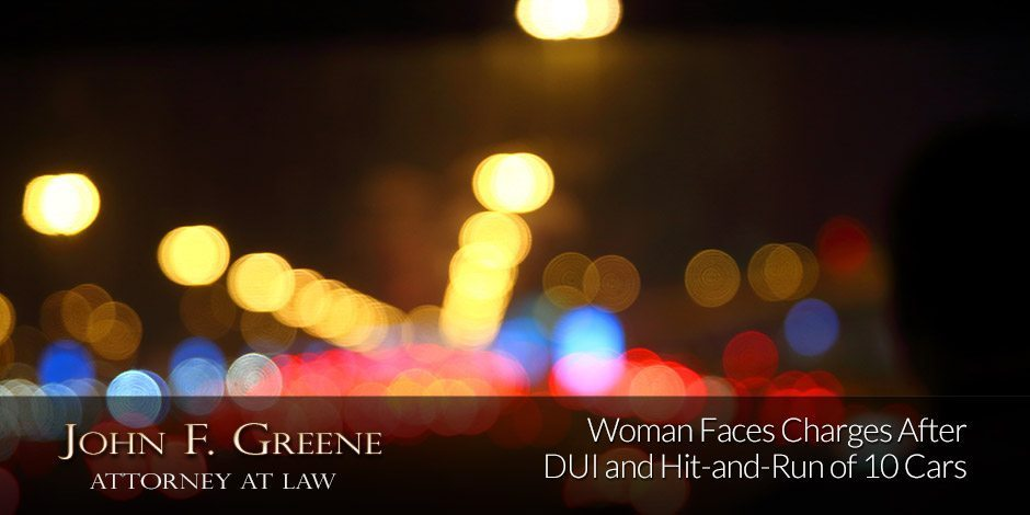 Woman Faces Charges After DUI and Hit-and-Run of 10 Cars