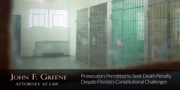 Prosecutors Permitted to Seek Death Penalty Despite Florida's Constitutional Challenges