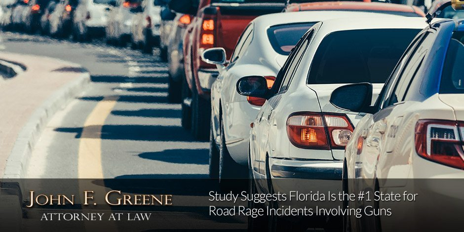 Study Suggests Florida Is the #1 State for Road Rage Incidents Involving Guns