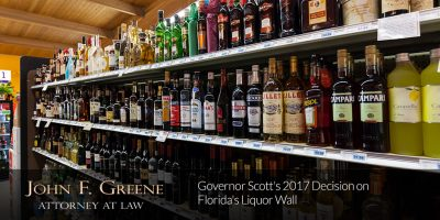Governor Scott's Decision on Florida's Liquor Wall