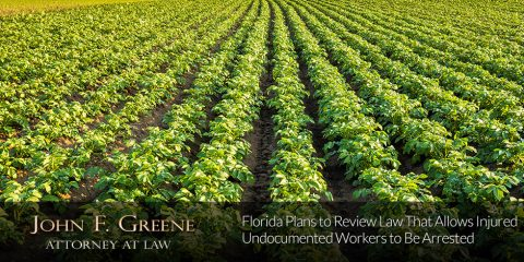 Florida Plans to Review Law That Allows Injured Undocumented Workers to Be Arrested