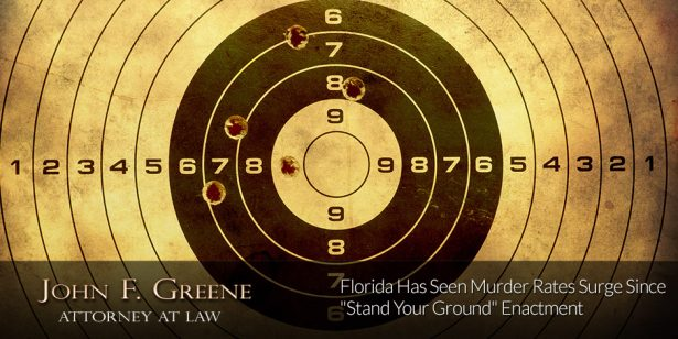 "Florida Has Seen Murder Rates Surge Since ""Stand Your Ground"" Enactment"